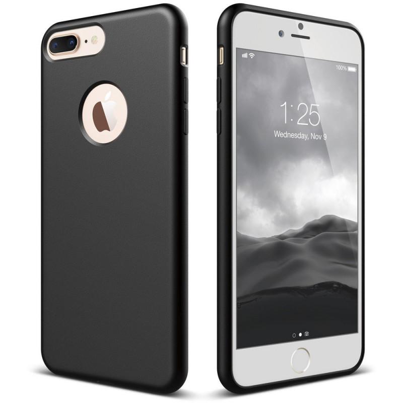 Husa de protectie moale Ultra SLIM iPhone 6 Plus, Black