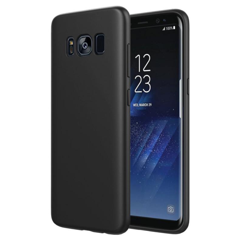 Husa de protectie moale Ultra SLIM Samsung Galaxy S8 Plus, Black