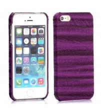 Husa de protectie rigidă cu model pentru iPhone 5 / 5S, Mov