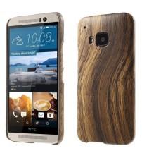 Husa de protectie rigida pentru HTC One M9,  Wood