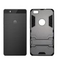 Husa de protectie rigida pentru Huawei P8 Lite, Dark Silver