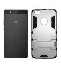 Husa de protectie rigida pentru Huawei P8 Lite, Light Silver