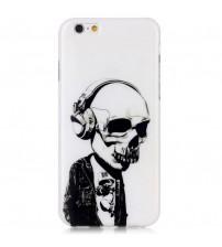 Husa de protectie rigidă pentru iPhone 6 / 6S, Skull