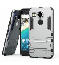 Husa de protectie rigida pentru Nexus 5X,  Silver