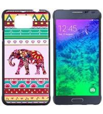 Husa de protectie rigida pentru Samsung Galaxy Alpha,  Elephant
