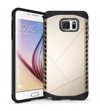 Husa de protectie rigida pentru Samsung Galaxy Note 5,  Black Gold