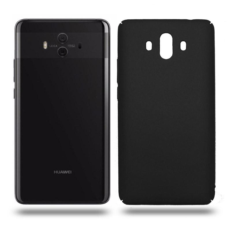 Husa Huawei Mate 10 rigida black, Huse Huawei - TemperedGlass.ro