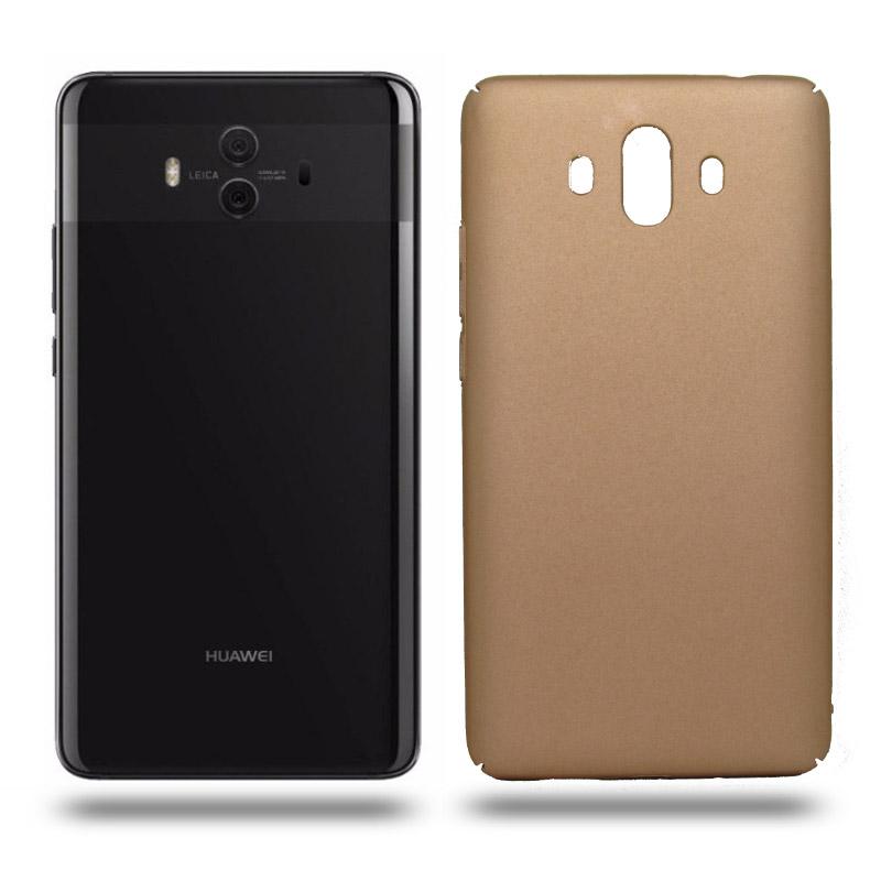 Husa Huawei Mate 10 rigida gold, Huse Huawei - TemperedGlass.ro