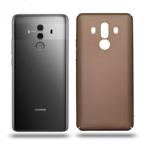 Husa Huawei Mate 10 Pro rigida gold, Huse Huawei - TemperedGlass.ro