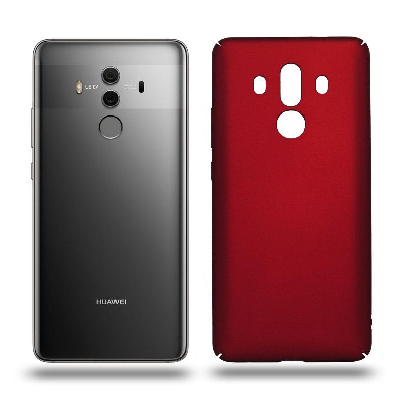 Husa Huawei Mate 10 Pro rigida red, Huse Huawei - TemperedGlass.ro