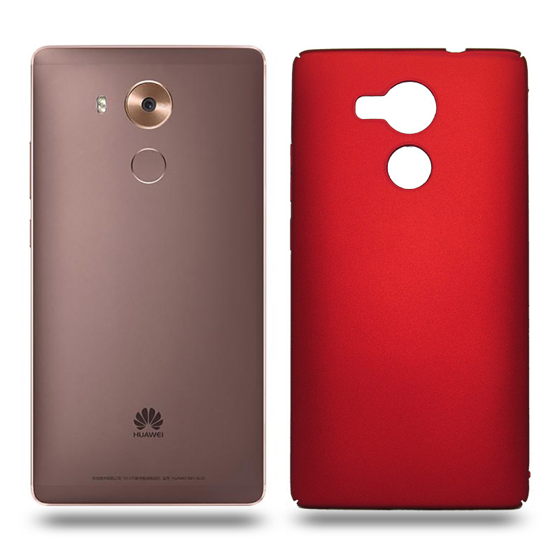 Husa Huawei Mate 8 rigida red, Huse Huawei - TemperedGlass.ro