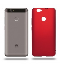 Husa de protectie rigida Ultra SLIM Huawei Nova, Red