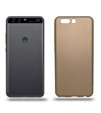 Husa de protectie rigida Ultra SLIM Huawei P10, Gold