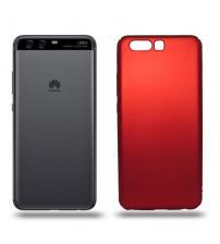 Husa de protectie rigida Ultra SLIM Huawei P10, Red