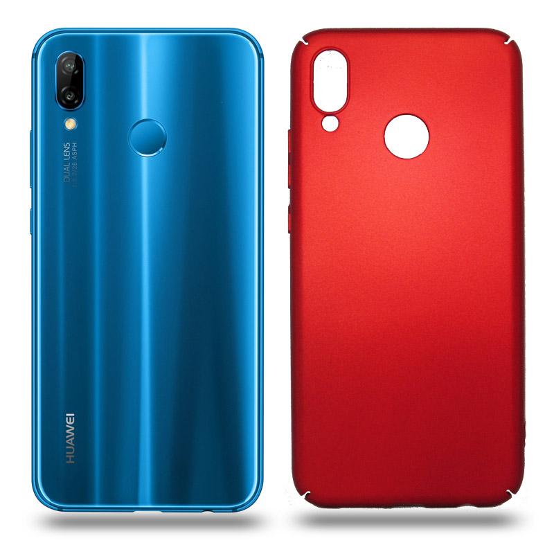 Husa Huawei P20 Lite rigida red, Huse Huawei - TemperedGlass.ro