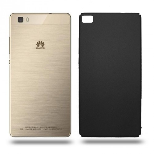 Husa Huawei P8 rigida black, Huse Huawei - TemperedGlass.ro