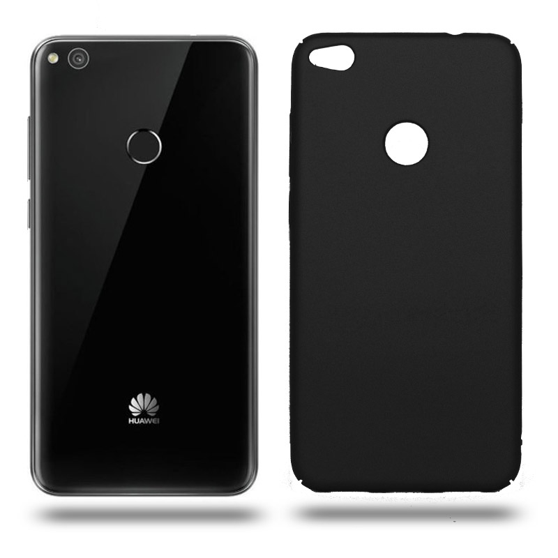 Husa Huawei P8 lite 2017 rigida black, Huse Huawei - TemperedGlass.ro