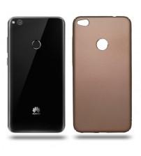 Husa de protectie rigida Ultra SLIM Huawei P8 Lite 2017, Gold