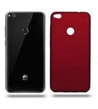 Husa de protectie rigida Ultra SLIM Huawei P8 Lite 2017, Red