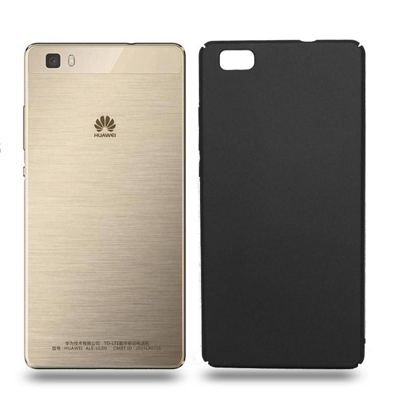 Husa Huawei P8 Lite rigida black, Huse Huawei - TemperedGlass.ro
