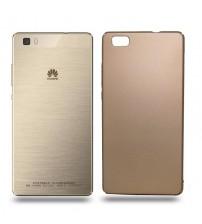 Husa de protectie rigida Ultra SLIM Huawei P8 Lite, Gold