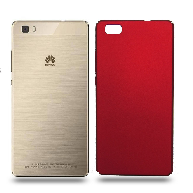 Husa Huawei P8 Lite rigida red, Huse Huawei - TemperedGlass.ro