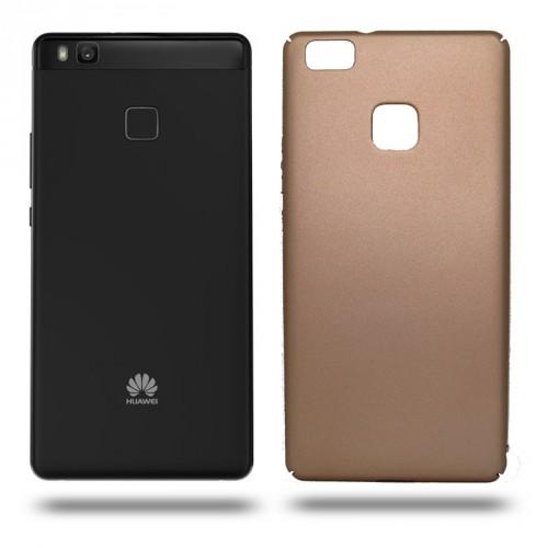 Husa Huawei P9 Lite rigida gold, Huse Huawei - TemperedGlass.ro