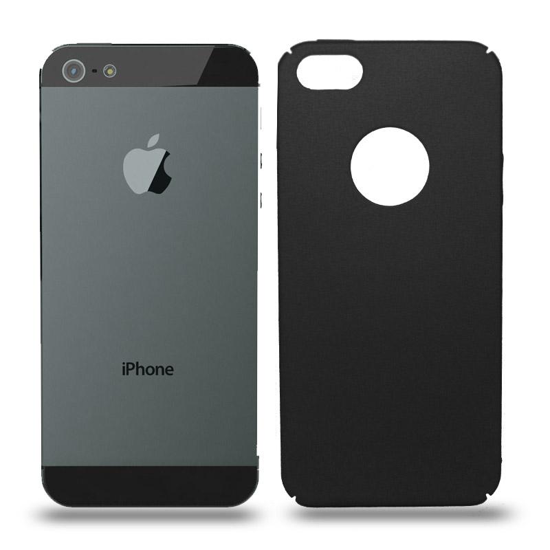 Husa iPhone 5 / 5S rigida black, Huse iPhone - TemperedGlass.ro
