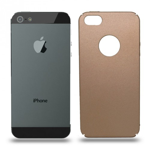 Husa iPhone 5 / 5S rigida gold, Huse iPhone - TemperedGlass.ro