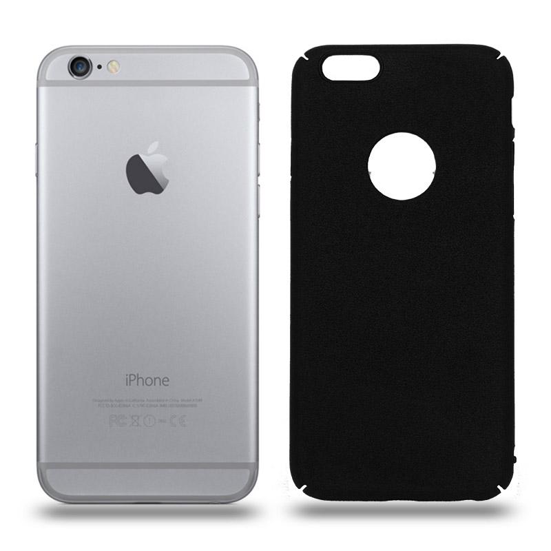 Husa iPhone 6 / 6S rigida black, Huse iPhone - TemperedGlass.ro