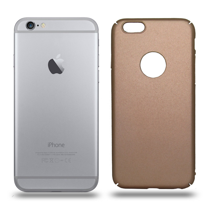 Husa iPhone 6 / 6S rigida gold, Huse iPhone - TemperedGlass.ro