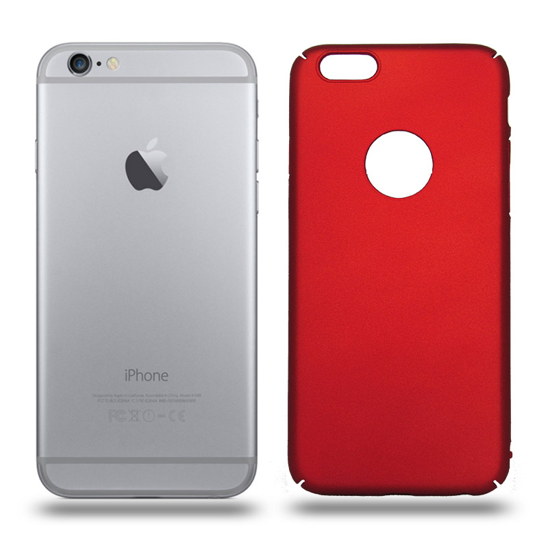 Husa iPhone 6 / 6S rigida red, Huse iPhone - TemperedGlass.ro