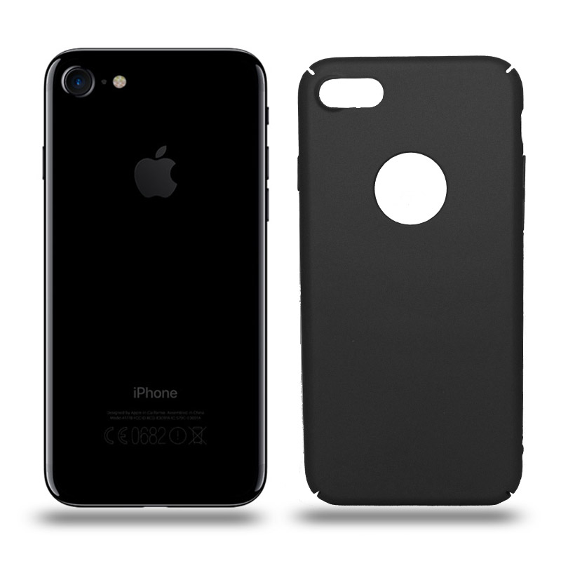 Husa iPhone 7 rigida black, Huse iPhone - TemperedGlass.ro