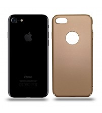 Husa de protectie rigida Ultra SLIM iPhone 7, Gold