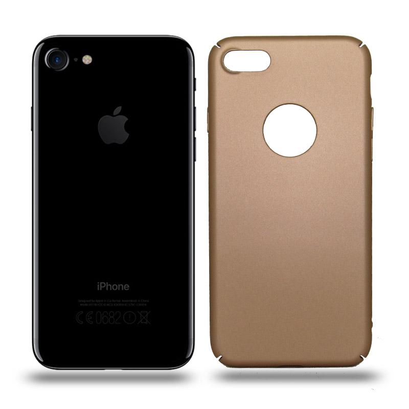 Husa iPhone 7 rigida gold, Huse iPhone - TemperedGlass.ro