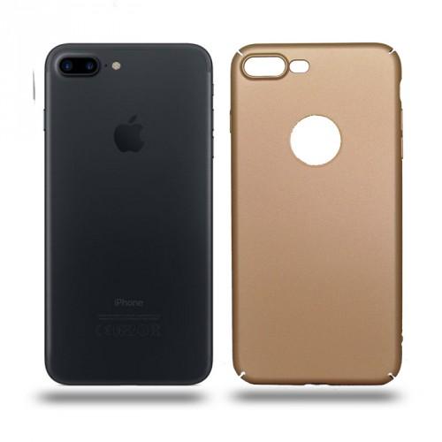Husa iPhone 7 Plus rigida gold, Huse iPhone - TemperedGlass.ro