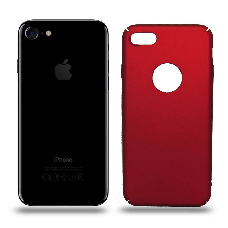 Husa iPhone 7 rigida red, Huse iPhone - TemperedGlass.ro