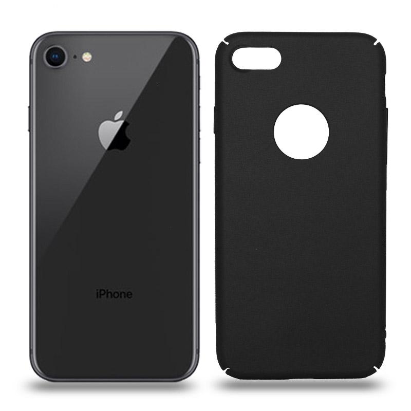 Husa iPhone 8 rigida black, Huse iPhone - TemperedGlass.ro
