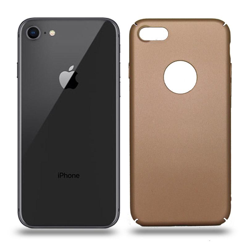 Husa iPhone 8 rigida gold, Huse iPhone - TemperedGlass.ro