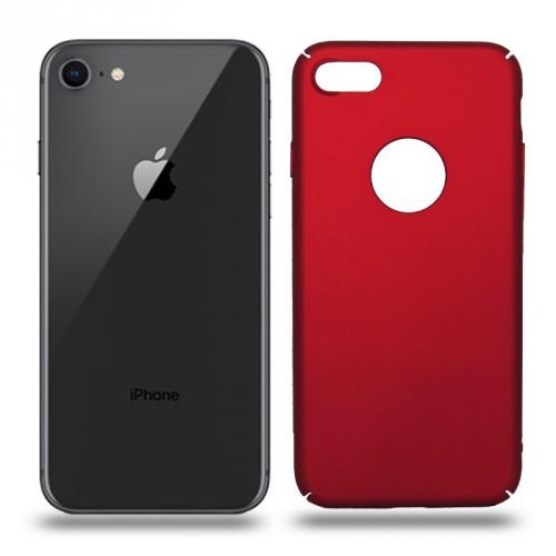 Husa iPhone 8 rigida red, Huse iPhone - TemperedGlass.ro