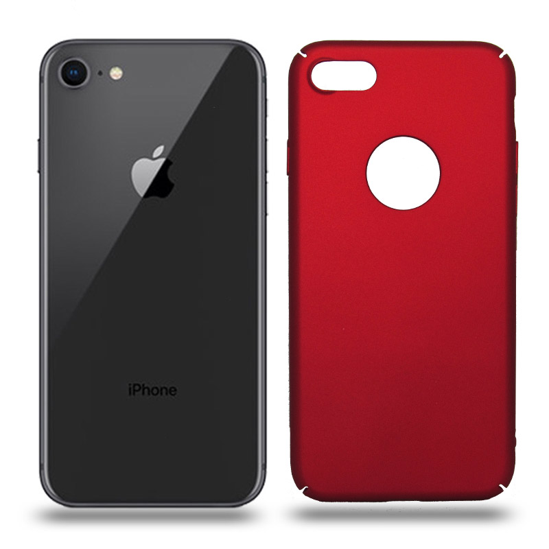 Husa iPhone 8 rigida red, Huse iPhone - TemperedGlass.ro