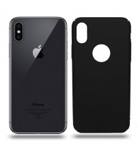 Husa de protectie rigida Ultra SLIM iPhone X, Black