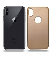 Husa de protectie rigida Ultra SLIM iPhone X, Gold