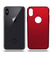 Husa de protectie rigida Ultra SLIM iPhone X, Red