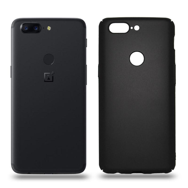 Husa OnePlus 5T rigida black, Huse OnePlus - TemperedGlass.ro