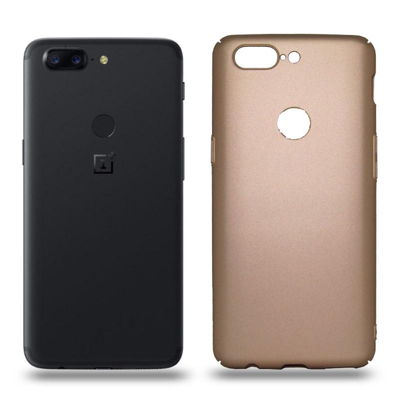 Husa OnePlus 5T rigida gold, Huse OnePlus - TemperedGlass.ro
