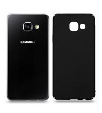 Husa de protectie rigida Ultra SLIM pentru Samsung Galaxy A3 2016, Black