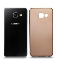 Husa de protectie rigida Ultra SLIM Samsung Galaxy A3 2016, Gold