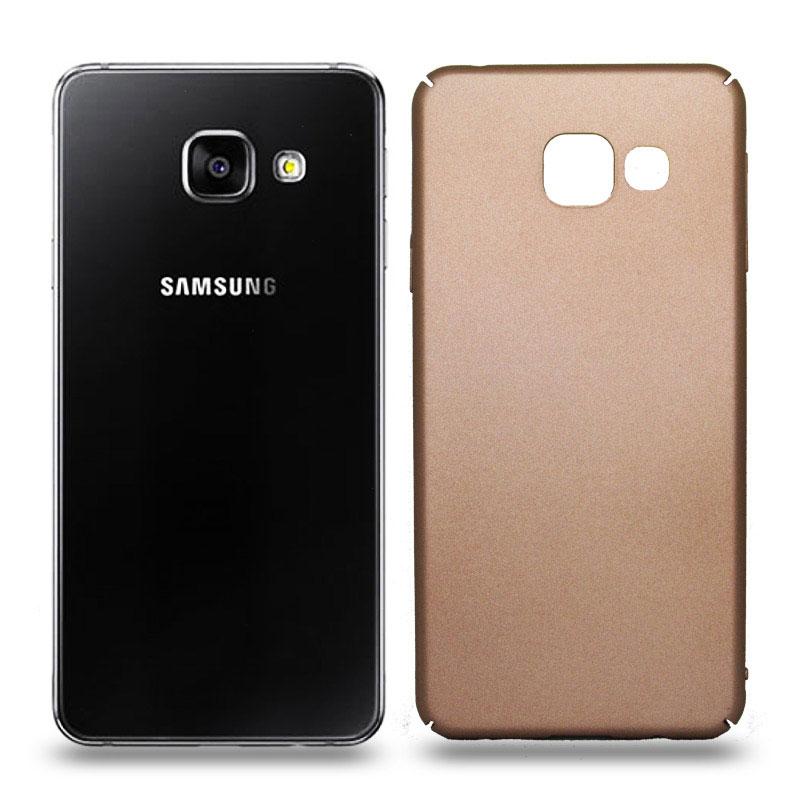 Husa Samsung Galaxy A3 2016 rigida gold, Huse Samsung