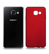 Husa de protectie rigida Ultra SLIM Samsung Galaxy A3 2016, Red